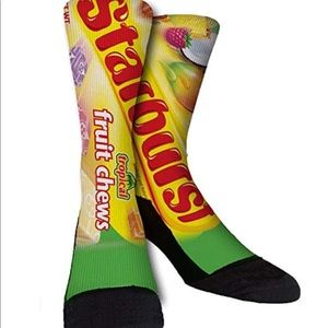 Accessories - Starburst Graphic 3D Print Socks